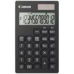 キヤノン CANON ビジネス電卓 「ビジネス向け手帳シリーズ」(12桁) KS-12T-BK-SOB (ブラック)