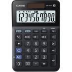 カシオ W税計算対応電卓 MW-100TC-BK-N ブラック