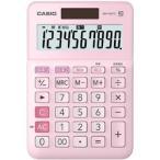 カシオ W税計算対応電卓 MW-100TC-PK-N ピンク