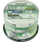 日立マクセル 1-16倍速対応 データ用CPRM対応DVD-Rメディア (4.7GB・50枚) DRD47WPD.50SP