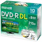 ��Ω�ޥ����� Ͽ����DVD-R DL ����2�ؼ��ۥ磻�ȥǥ�������CPRM�б��� 2��8��®10��ѥå� DRD215WPE10S