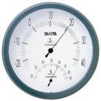 タニタ 温度計 温湿度計 TT-492NGY Nグレー