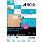 A-one 29233 (インクジェット用光沢紙ラベル/CDケース正面/表示用/A4サイズ/14面/10シート)