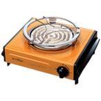 【お取り寄せ】IZUMI(泉精器) 電気コンロ (600W) IEC-105-D オレンジ