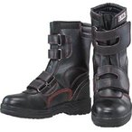 おたふく手袋 JW775-235 おたふく 安全シューズ半長靴マジックタイプ 23.5