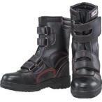 おたふく手袋 JW775-245 おたふく 安全シューズ半長靴マジックタイプ 24.5