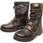 おたふく手袋 JW-773-240 おたふく 安全シューズ静電半長靴マジックタイプ 24.0cm