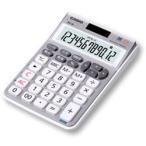 カシオ MZ-20-SR(ブリリアント・シルバー) テンキー電卓 ミニジャストタイプ 12桁