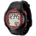 山佐時計計器 電波時計内蔵万歩計 「ウォッチ万歩計」 TM-500-BR ブラック×レッド