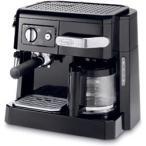 デロンギ BCO410J-B ブラック ドリップコーヒー・エスプレッソ・カプチーノメーカー(10杯分)