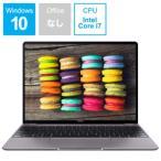 HUAWEI  ファーウェイ  モバイルノートPC MateBook 13 WRT29CH78CNCNNUA  Core i7 13.0インチ SSD 512GB メモリ 8GB