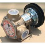 樫山工業 KP-150-BCH セレックスポンプ 電磁クラッチ付 12V 口径32mm 海水 汚水 送料無料