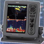 GPS 魚探 光電 KODEN CVG-87B DGPSセンサー付 1KW お魚サイズ・newpec全国地図・デジタル魚探