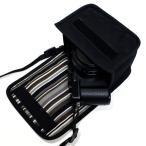suono スオーノ  LUMIX LX100M2ケース ブラック アルバグレイ  -ハンドメイド