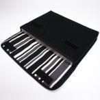 レッツノートRZケース「FILO」(ブラック・カーボンストライプ)--suono(スオーノ)ハンドメイド