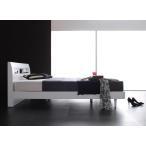 ショッピングすのこ すのこベッド スノコベッド セミダブル マットレス付き 木製 棚 コンセント付き 桐のすのこ仕様 セミダブルベッド