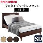 電動ベッド リクライニング セミダブル 電動リクライ
