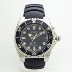【送料無料】SEIKO [SKA371P2]逆輸入セイコーKINETIC キネティック搭載 ダイバーズ メンズ 腕時計 ラバーバンド/ブラック