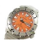 【送料無料】SEIKO [SRP309J1]逆輸入セイコー 自動巻き ダイバー メンズ腕時計 /オレンジ