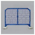 ディックフェンス ブルー 本体 脚パイプ付 工事現場 イベント会場 区画用品 1214×1500mm ユニット 958-01
