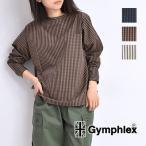 ショッピングジムフレックス Gymphlex ジムフレックス ボートネックプルオーバーシャツ J-1235NTS レディース