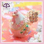新商品入荷にわとり ニワトリ 鳥 雌鶏 干支 酉年 置物 ピィアース 宝石箱 新年 誕生日プレゼント 女性