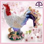 新商品入荷さくらとり サクラ お花見 にわとり ニワトリ 鳥 雄鶏 干支 酉年 オブジェ 置物 ピィアース 宝石箱
