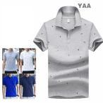 ポロシャツ メンズ ポロ カットソー 半袖 ゴルフウェア POLO tシャツ トップス セーリング 小柄 スリム カジュアル 2019 春夏 新作