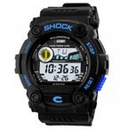 Yahoo!ヤフスカカシオ 腕時計 ブランドNew Unisex Fashion Sport Watches Multifunction Multi-colour Led Light Analog Digital Waterproof Alarm Dual Time Boys Girls