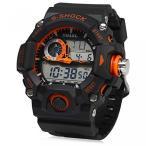 Yahoo!ヤフスカカシオ 腕時計 ブランドELEOPTION? SMAEL Analog Fashion Multi Function Men Sport LED Waterproof Quartz Bracelet Digital Wrist Watch (Orange) 正規輸入品
