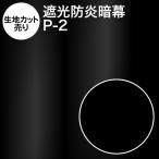 【生地カット売り】アンマクヤオリジナルポリエステル暗幕:P-2【10cm単位】【遮光1級・防炎】暗幕 あんまく