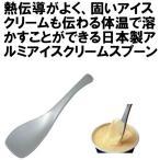 アルミ アイス専用スプーン 熱伝導 アルミアイスクリームスプーン 日本製