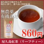 屋久島紅茶(リーフティー)  / 無農薬 / 有機栽培 / 産地直送