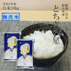 米 10kg 送料無料 無洗米 とちぎの星 5kg×2袋 令和元年産 特A 特a 栃木県 日光産 白米 一等米 14時までのご注文で当日出荷 お米 10キロ