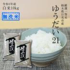 新米 令和2年産 お米 10kg(5kg×2) 送料無料 無洗米 栃木県 ゆうだい21 白米 一等米