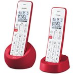 SHARP  デジタルコードレス電話機 JD-S08CW-R
