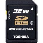 東芝 SDHCカード 32GB SD-L032G4 1コ入