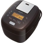 【無料長期保証】パナソニック SR-PA109-T 可変圧力IHジャー炊飯器 5.5合炊き ブラウン