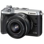 キヤノン EOSM6-L1545KSL ミラーレス一眼カメラ 「EOS