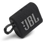 ジェイビーエル JBLGO3BLK JBL Go 3 ポータブルBluetoothスピーカー ブラック
