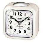 カシオ TQ-157-7BJF 置き時計 LEDライト付きトラベルクロック