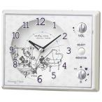 セイコークロック FD478W キャラクター 目覚し時計 マルチアラーム(スヌーズ付) スイープ秒針 ライト付