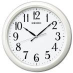 セイコークロック KX234W 電波掛時計 SEIKO 白パール塗装