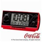 セイコー AC602R 電波目覚まし時計 「コカ・コーラ」