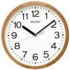 セイコー 電波掛け時計 KX249B 天然色木地