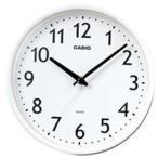 カシオ IQ-58-7JF (ホワイト) 壁掛け時計