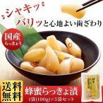 【山田養蜂場】【送料無料】 蜂蜜らっきょ漬 1袋(100g)×5袋セット /はちみつ /ギフト