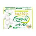 (まとめ)小林製薬 サラサーティコットン100 1パック(56個入) 093792〔×10セット〕