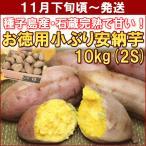 鹿児島県種子島産「お徳用小ぶり安納芋」 10kg(2Sサイズ)