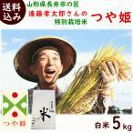 平成30年度産 山形県長井市・遠藤孝太郎さんの「特別栽培米つや姫」 白米5kg 送料込